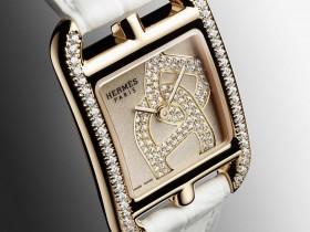 『奢侈品名表鉴定回收』Hermès  Cape Cod 银曜石表盘Chaîne d'ancre腕表