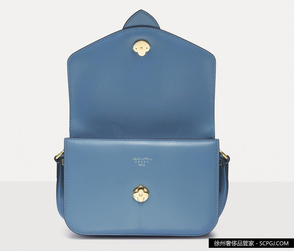 Louis Vuitton 风暴蓝色 Pont 9 手袋回收价格多少